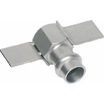 "SANHA Pressfitting Übergangsmuffe IG/V Edelstahl 9270F 15 mm x 1/2"""