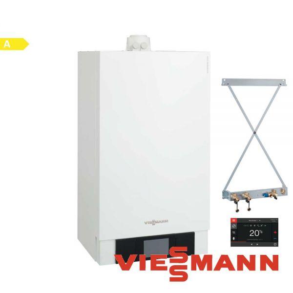 Viessmann Vitodens 200-W B2HB147 13kW Gastherme, VT200, Zubehör