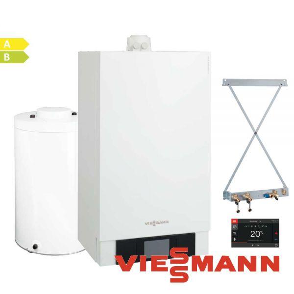 Viessmann Vitodens 200-W B2HB117 13kW Gastherme, 150L Vitocell 100-W, CUGA