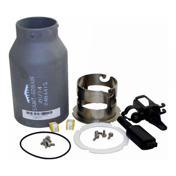 Wolf Flammrohr Keramik Set für COB-20 8908075