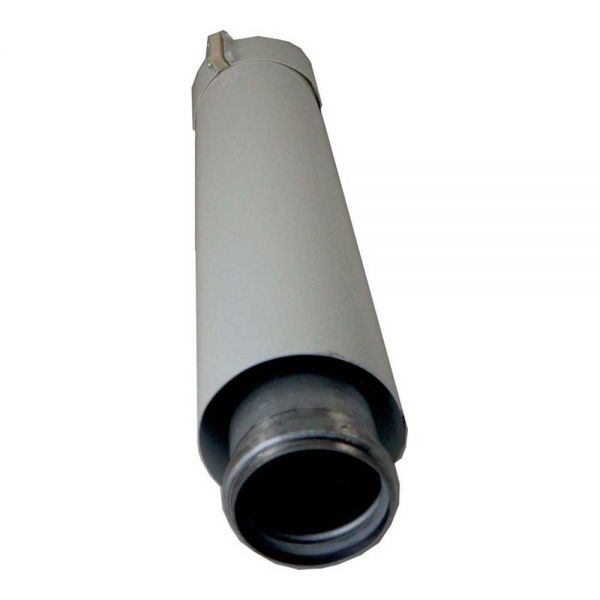 Wolf Luft- / Abgasrohr DN63/96 L 427mm weiß 2600125