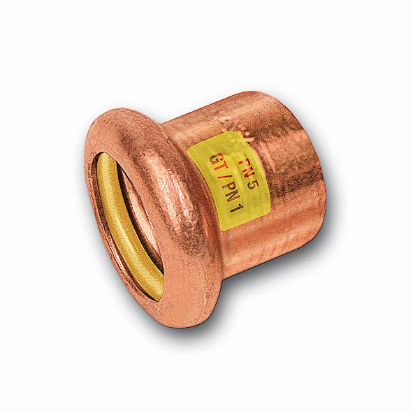 SANHA Gas-Pressfitting Kappe Cu 10301
