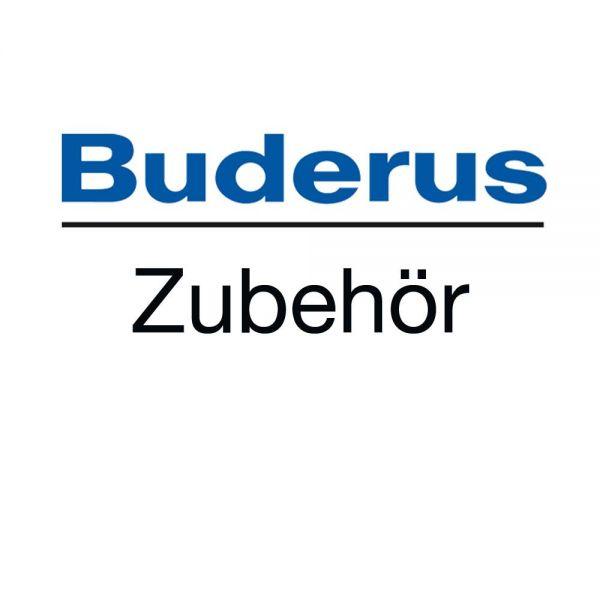 Buderus Kaltwassersicherheitsgruppe 8 Bar ohne Druckminderer, 1 m Schlauch