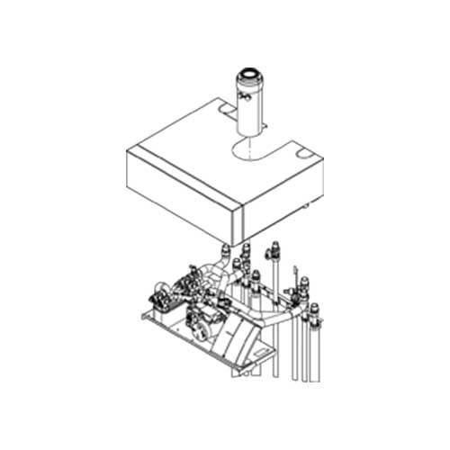 Viessmann Aufbau-Kit mit Mischer für Aufputzinstallation Vitodens 242-F, Z009891