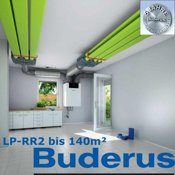 Buderus Logaplus Luftverteilpaket LP-RR2 bis 140m²