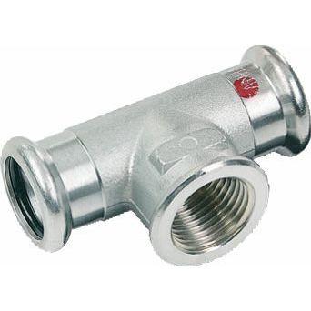 SANHA-Therm Pressfitting T-Stück C-Stahl 24130