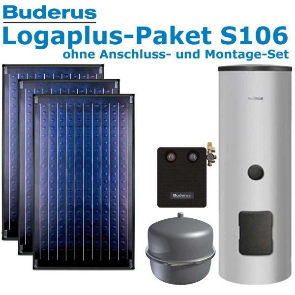 Buderus Logaplus-Paket S106 mit 7,11m², 3 SKN4.0-oM, ESM300, SM100