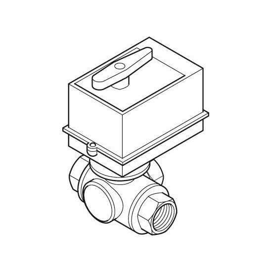 Buderus 3-Wege-Ventil G-SU, DN 32 60 kpl