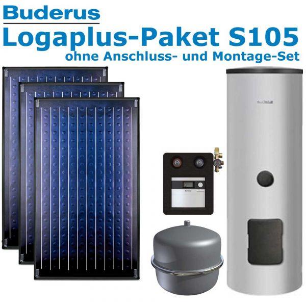 Buderus Logaplus Paket S105 mit 7,11m², 3 SKN4.0-oM, ESM300, SC20/2