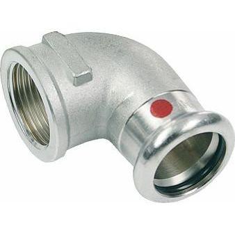 SANHA-Therm Pressfitting Winkel 90° C-Stahl 24090