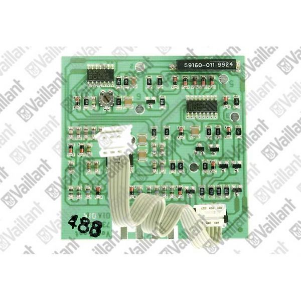 Vaillant Leiterplatte (Abgassensor) 130355