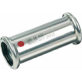 SANHA-Therm Pressfitting Schiebe-Muffe C-Stahl 24270