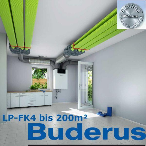 Buderus Logaplus Luftverteilpaket LP-FK4 bis 200m²