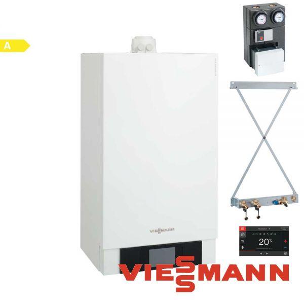 Viessmann Vitodens 200-W B2HB152 19kW Gastherme, VT200, Zubehör