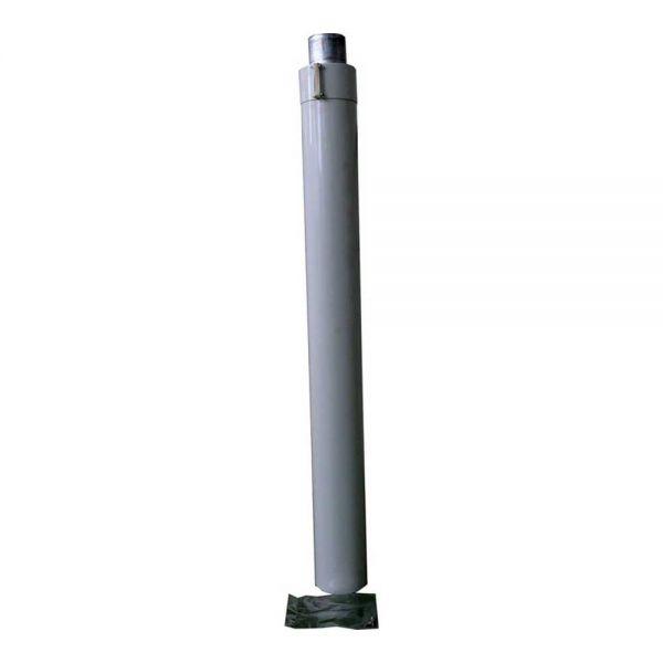 Wolf Luft-/Abgasrohr DN63/96 L 912mm weiß 2600126