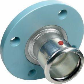 SANHA-Therm Pressfitting Bimetall Pressflansch C-Stahl 24