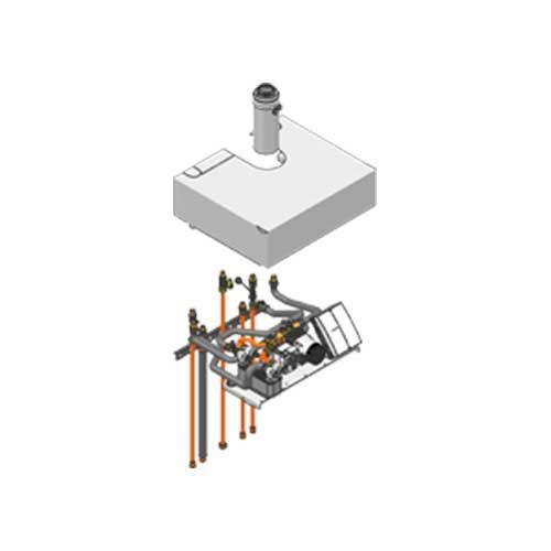 Viessmann Aufbau-Kit Mischer, Aufputzinstallation Vitodens 222-F/333-F