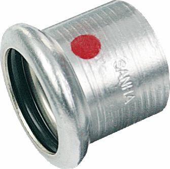SANHA-Therm Pressfitting Kappe C-Stahl 24301