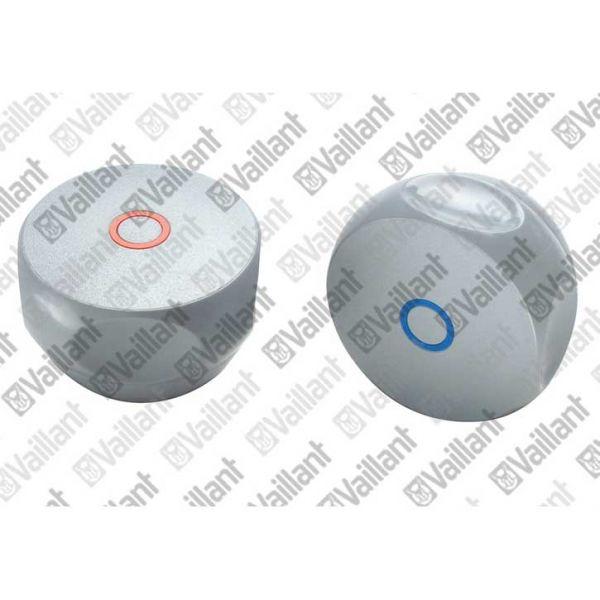 Vaillant Griffe (blau und rot) Zapfventile 012009